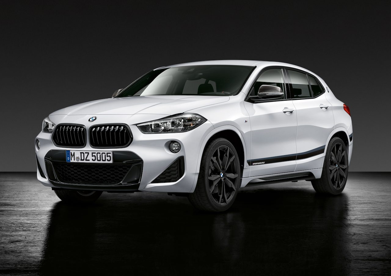 nieuwe bmw x2 x3 en x4 aan de m performance goodies. Black Bedroom Furniture Sets. Home Design Ideas