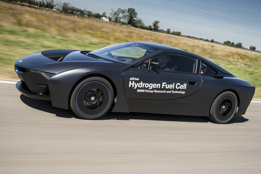Model Hydrogen Fuel Cell Cars Zo ziet een BMW...