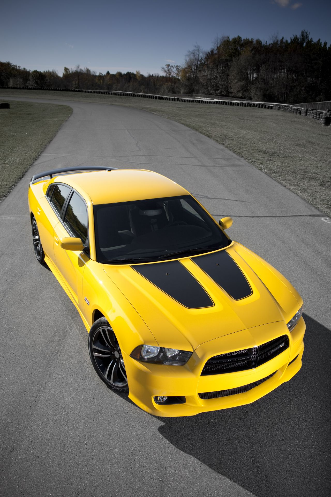 Dodge Challenger Srt8 Yellow Jacket Amp Charger Yellow Bee