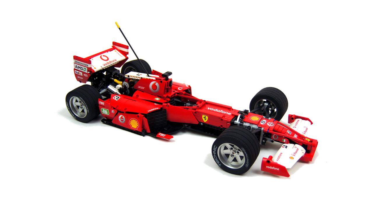 video je gelooft nooit wat deze lego ferrari f1 allemaal kan. Black Bedroom Furniture Sets. Home Design Ideas