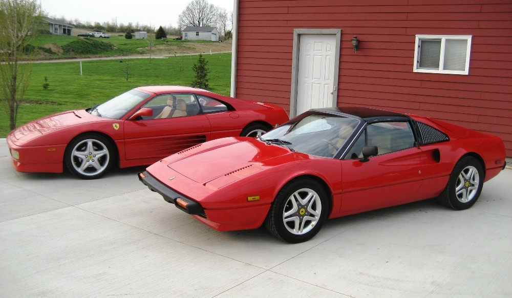 te koop ferrari 308 gtsi met pontiac fiero v6. Black Bedroom Furniture Sets. Home Design Ideas