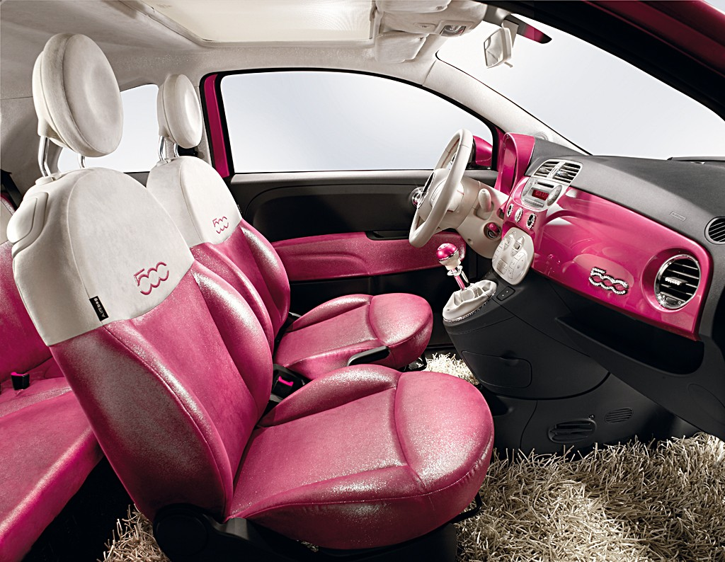foto fiat 500 barbie fiat 500 barbie 16. Black Bedroom Furniture Sets. Home Design Ideas