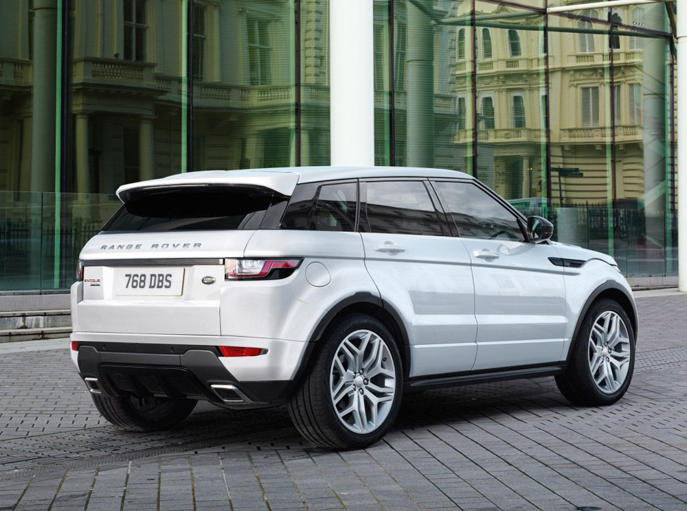 range rover evoque facelift autoforum. Black Bedroom Furniture Sets. Home Design Ideas