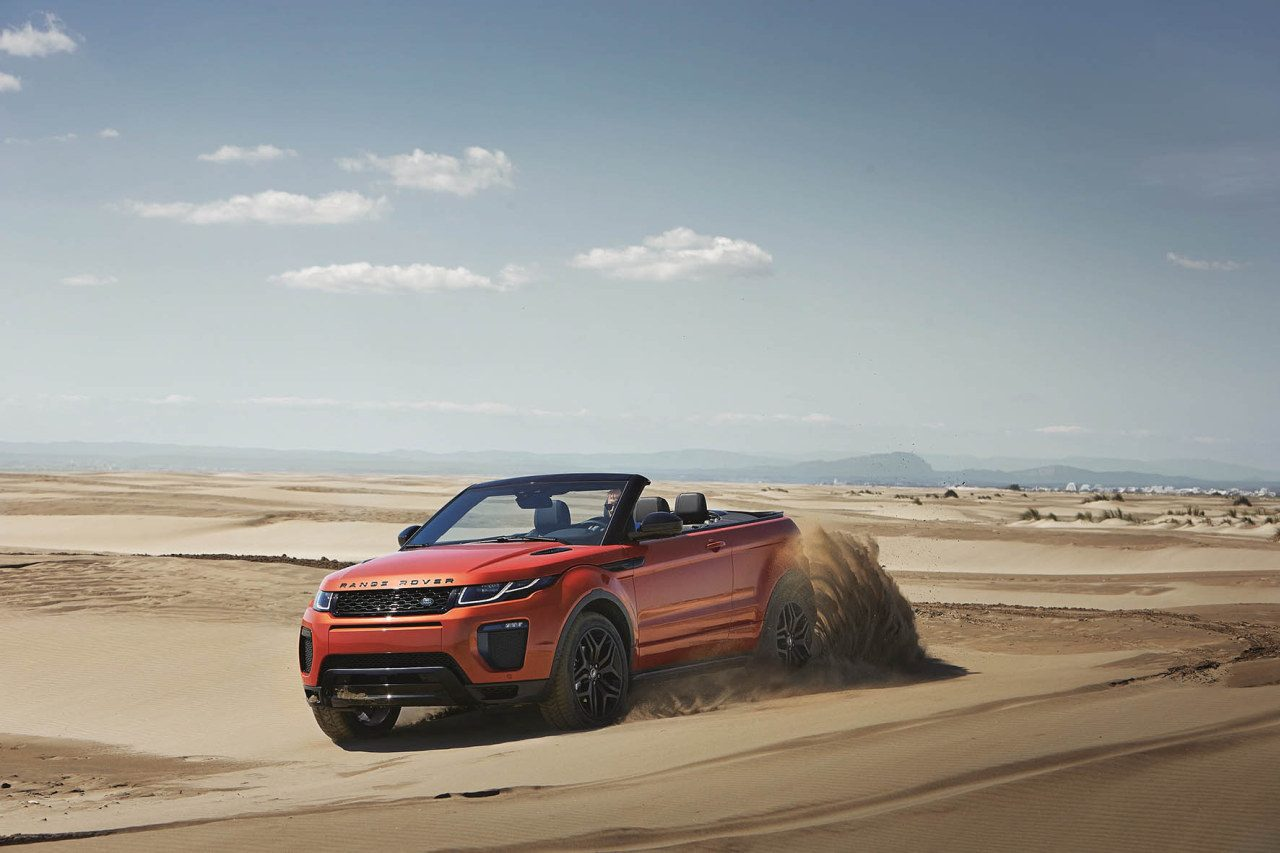foto land rover range rover evoque convertible 2016 range rover evoque cabrio 007. Black Bedroom Furniture Sets. Home Design Ideas