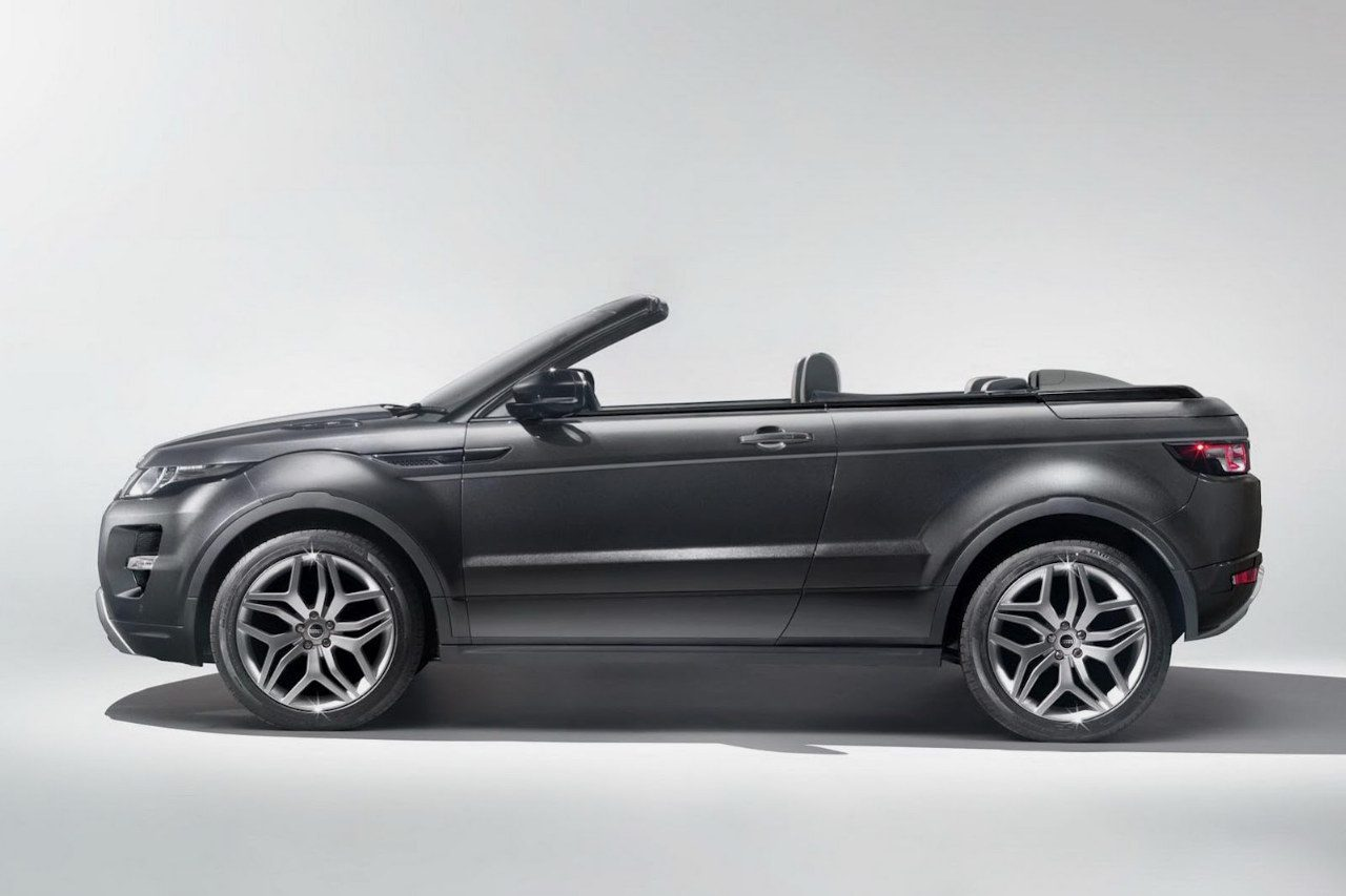 foto land rover range rover evoque convertible concept range rover evoque cabrio concept 04. Black Bedroom Furniture Sets. Home Design Ideas