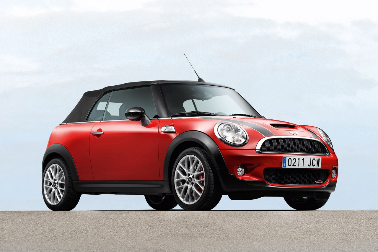 foto mini cooper s jcw cabrio mini jcw cabrio 04. Black Bedroom Furniture Sets. Home Design Ideas