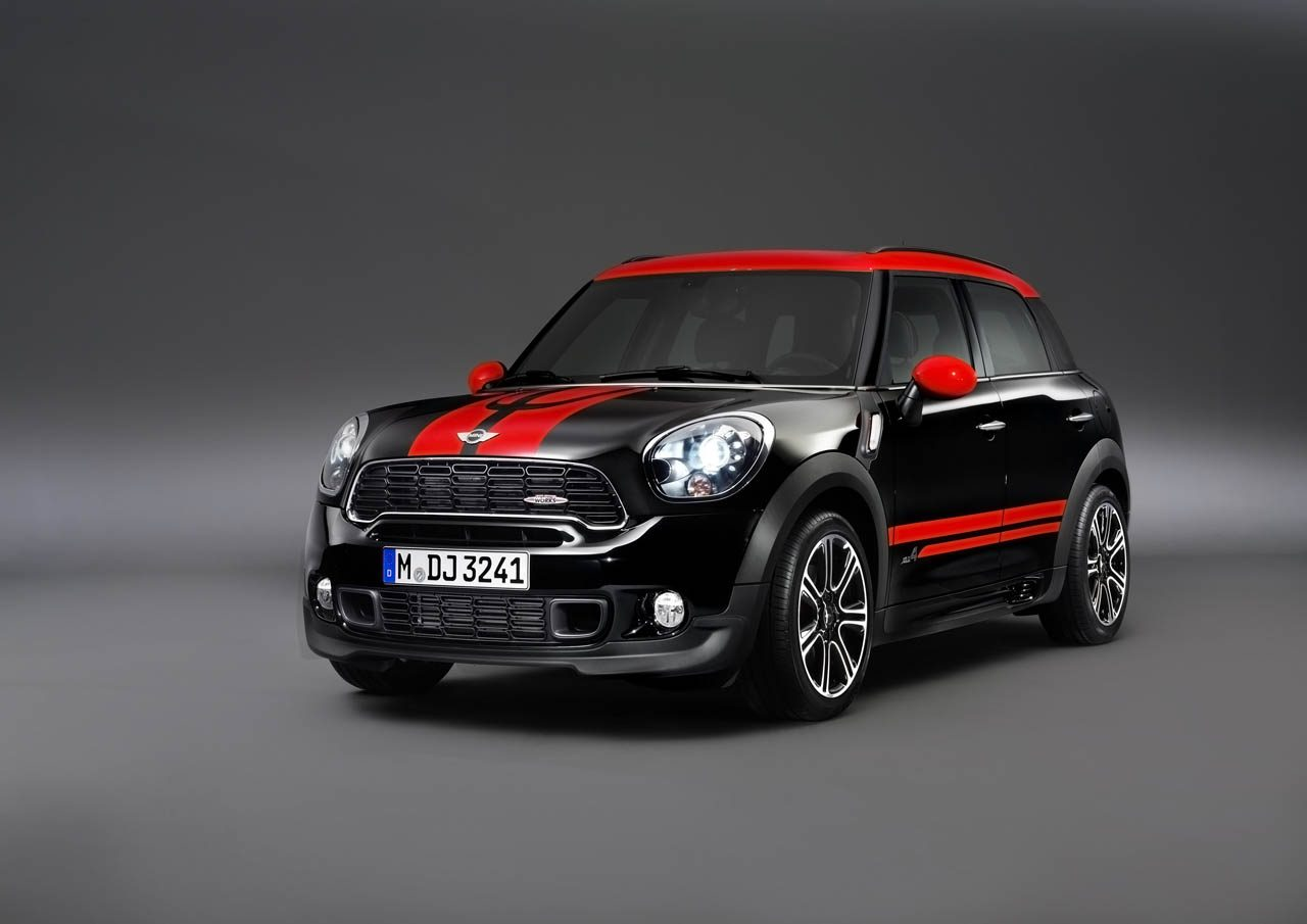 mini countryman john cooper works afbeeldingen. Black Bedroom Furniture Sets. Home Design Ideas