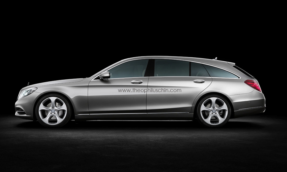 Foto Mercedes 0 Divers Mercedes S Klasse Shooting Brake