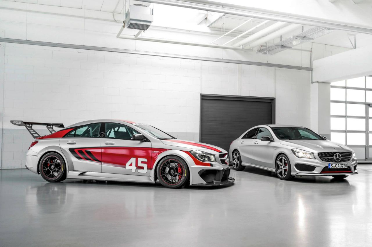foto mercedes cla45 amg racing series concept mercedes cla45 amg racing series concept 02. Black Bedroom Furniture Sets. Home Design Ideas