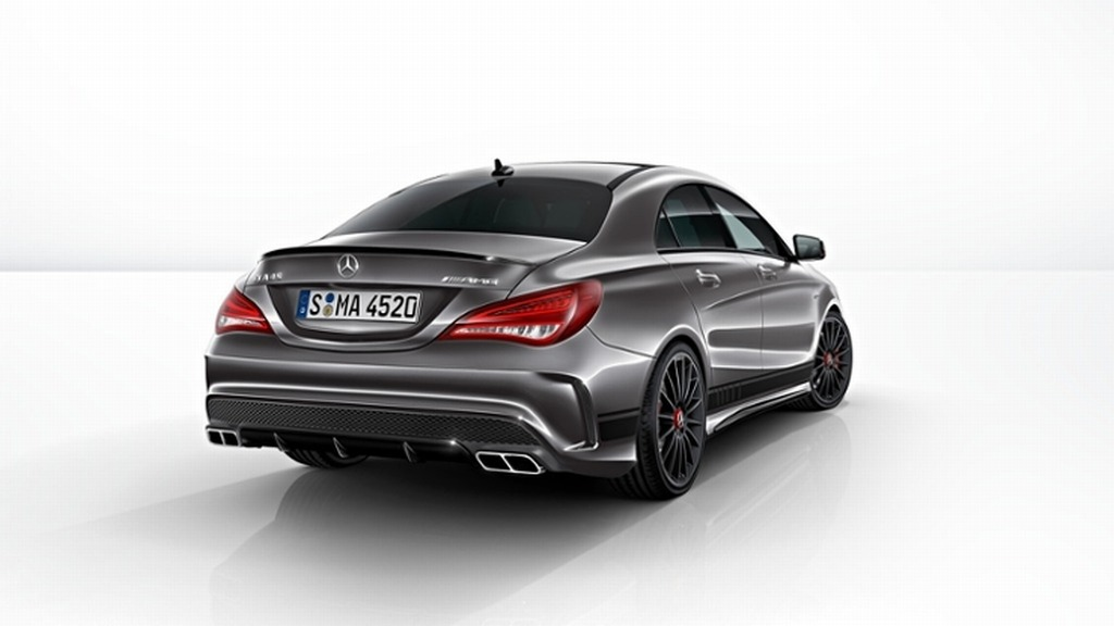 mercedes cla 45 amg swiss edition afbeeldingen. Black Bedroom Furniture Sets. Home Design Ideas