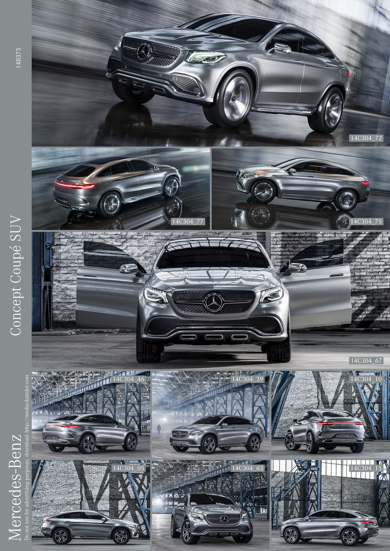 Mercedes-Benz Coupe Concept SUV Sunroof