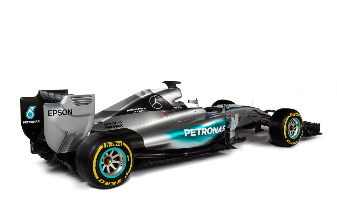 dit is de nieuwe f1 auto van mercedes de w06 hybrid. Black Bedroom Furniture Sets. Home Design Ideas