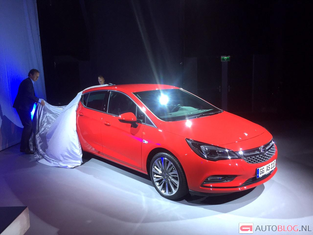 Gallery opel astra k onthulling