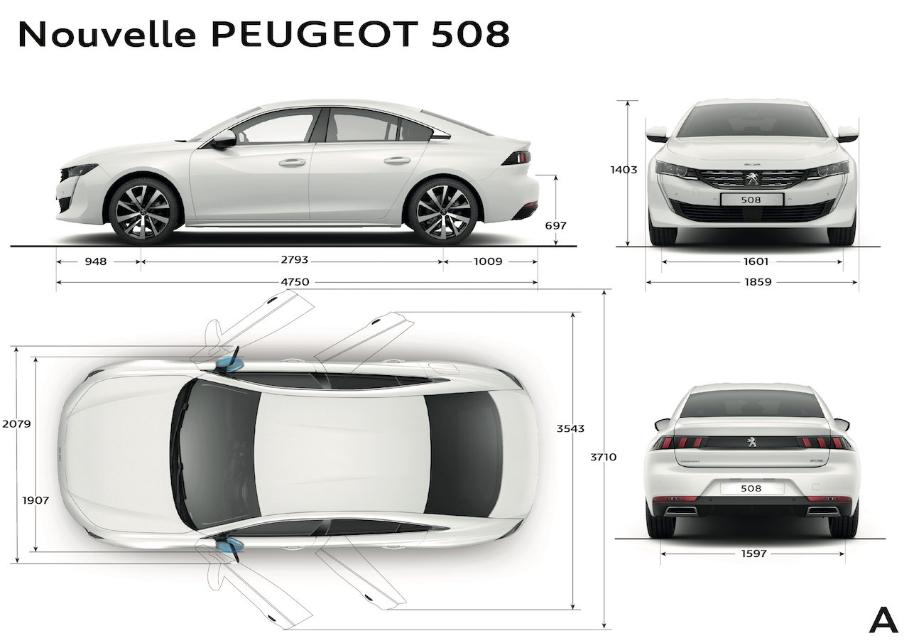 prijs nieuwe peugeot 508 is bekend. Black Bedroom Furniture Sets. Home Design Ideas
