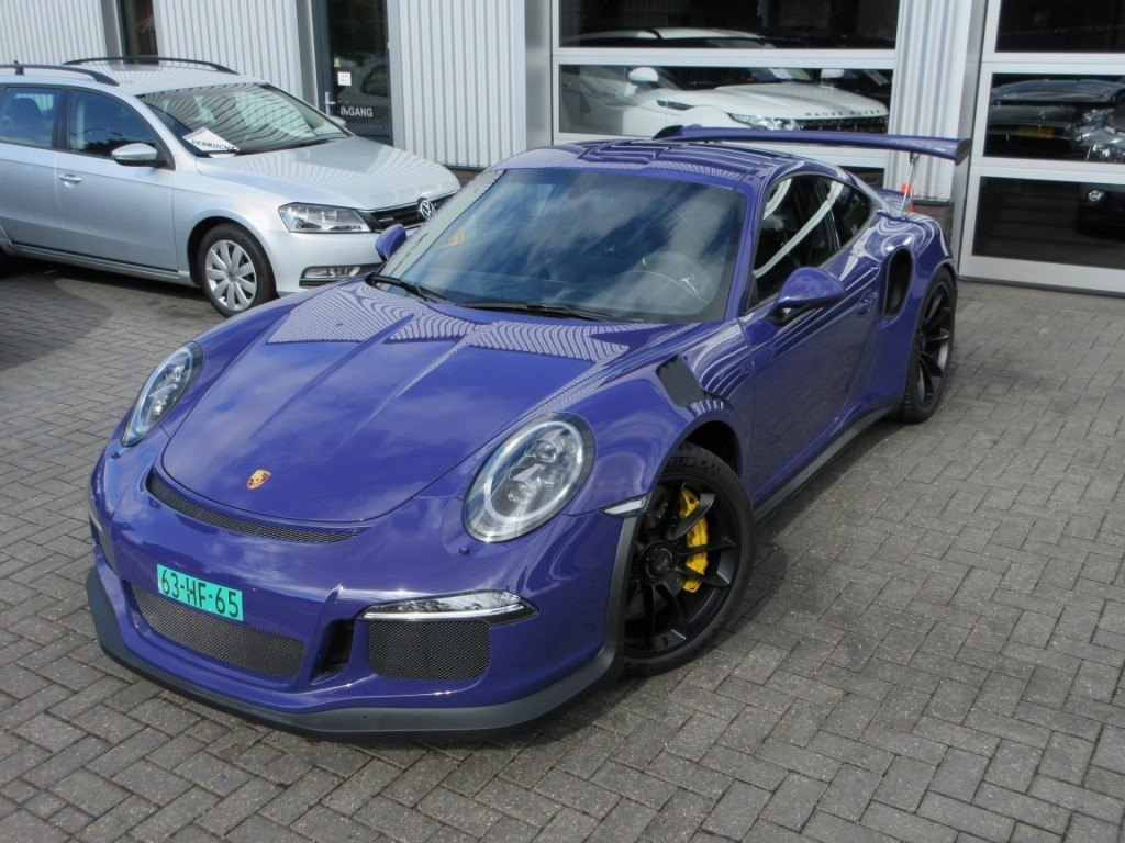 foto porsche 0 divers porsche 991 gt3 rs occasion paars. Black Bedroom Furniture Sets. Home Design Ideas