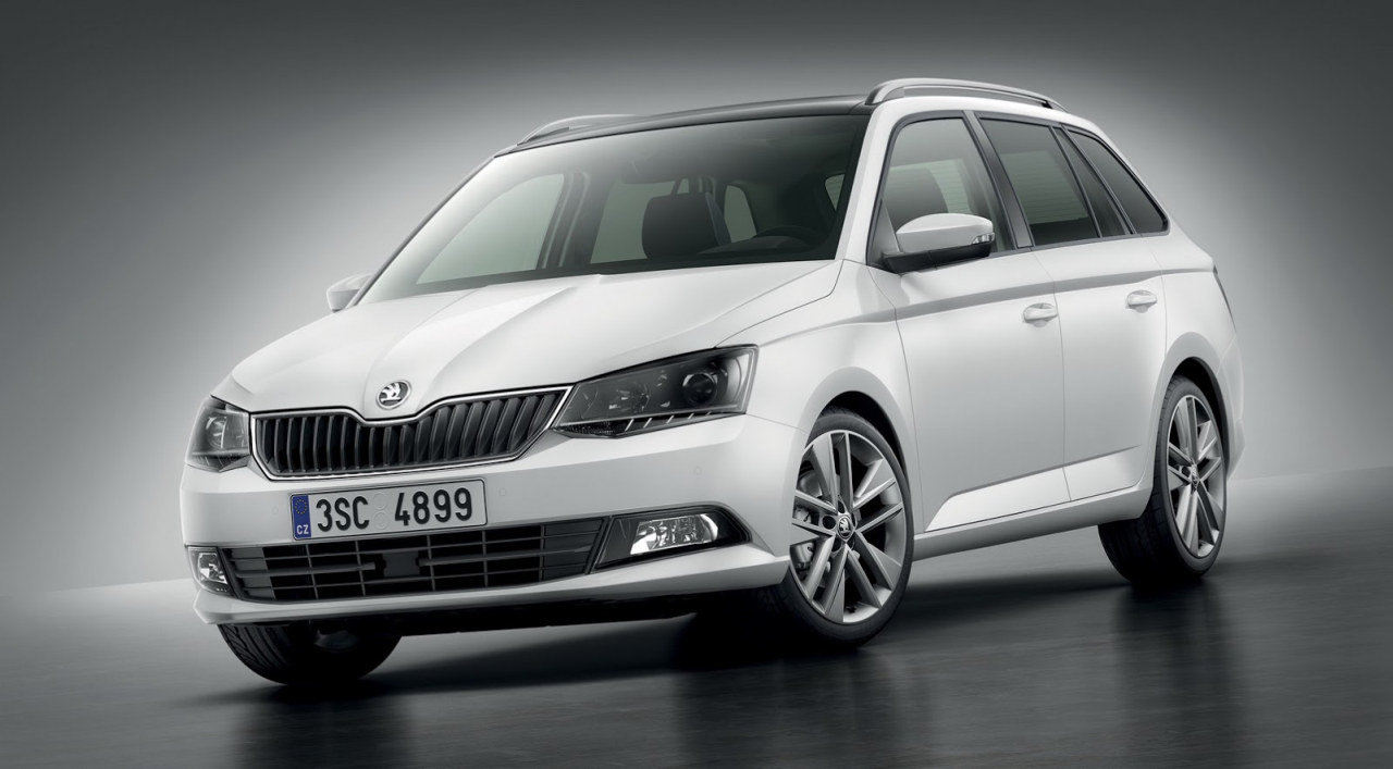 skoda fabia combi 2015 afbeeldingen. Black Bedroom Furniture Sets. Home Design Ideas