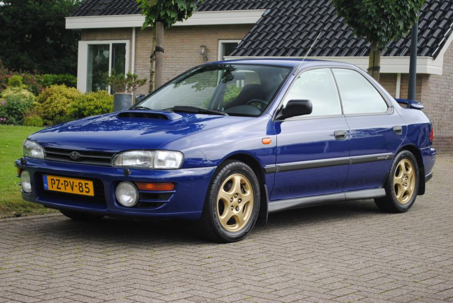 youngtimer du jour subaru impreza 2 0 gt turbo awd. Black Bedroom Furniture Sets. Home Design Ideas
