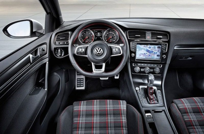 volkswagen golf vii gti concept gelekt vw gaat retro. Black Bedroom Furniture Sets. Home Design Ideas