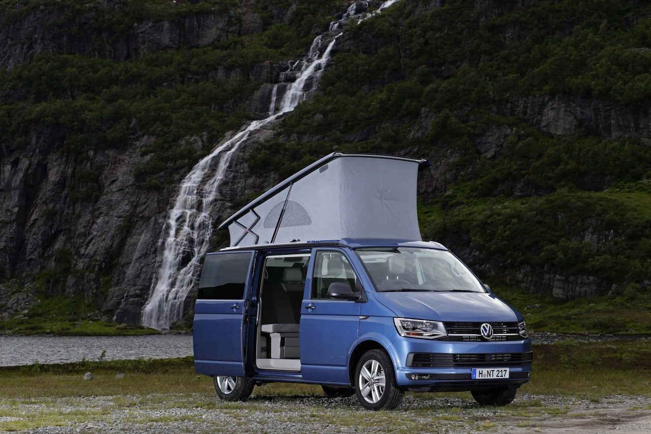 Vw T California on vw transporter camper van