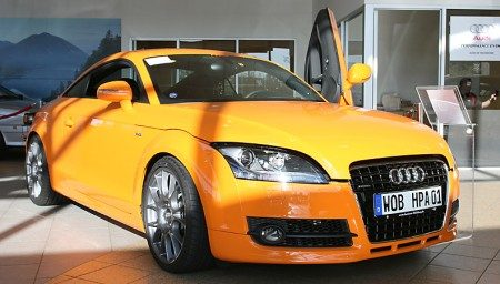 tt stands for twin turbo says hpa firm turbocharges new audi coupe. Black Bedroom Furniture Sets. Home Design Ideas