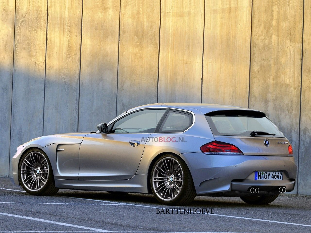 Dagdromen Over Een Bmw Z4m Shooting Brake Autoblog Nl